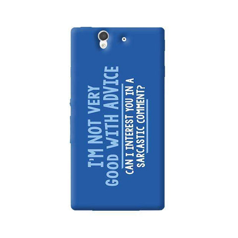 Sarcastic Comment  Sony Xperia Z Case