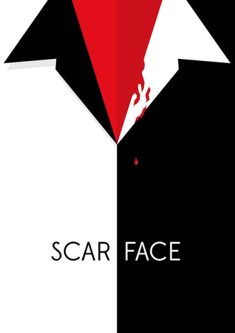 Scarface Minimal Poster