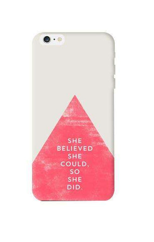 She Believed She Could Apple iPhone 6 Plus Case