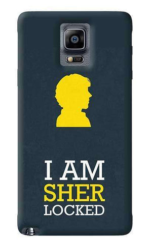 Sherlock Samsung Galaxy Note 4 Case
