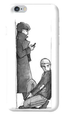 Sherlock Sketch Apple iPhone 6/6S Case