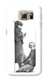 Sherlock Sketch Samsung Galaxy S6 Case