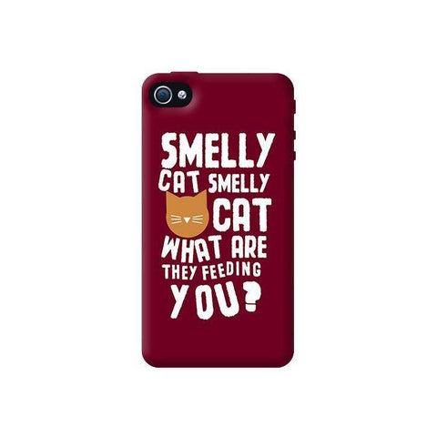 Smelly Cat  Apple iPhone 4/4S Case