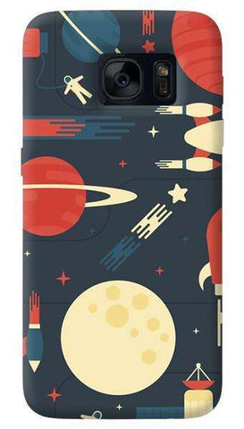 Space Odyssey   Samsung Galaxy S7 Edge Case