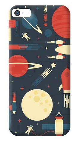 Space Odyssey  Apple iPhone 5/5S Case