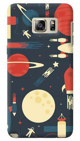 Space Odyssey  Samsung Galaxy Note 5 Case