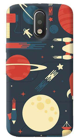 Space Odyssey Motorola Moto G4/ G4 Plus Case