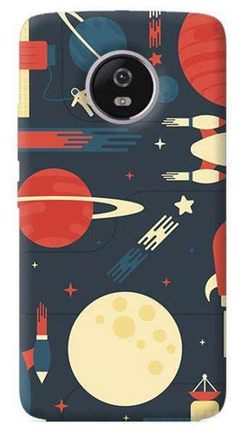 Space Odyssey Motorola Moto G5 Plus Case
