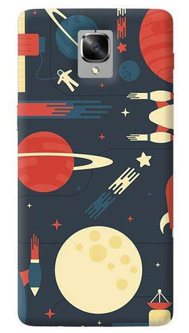 Space Odyssey Oneplus 3/ 3T Case