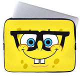 Spongebob Nerdy Laptop Sleeve