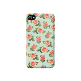 Spring Floral Apple iPhone 4/4S Case