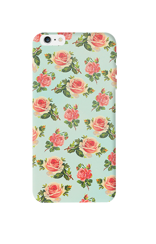Spring Floral Apple iPhone 6 Plus Case