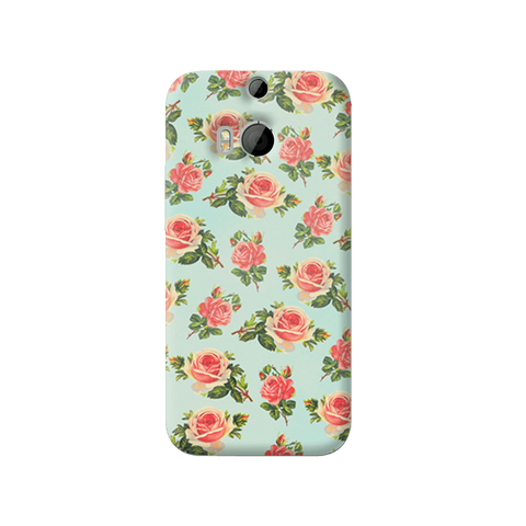 Spring Floral HTC One M8 Case