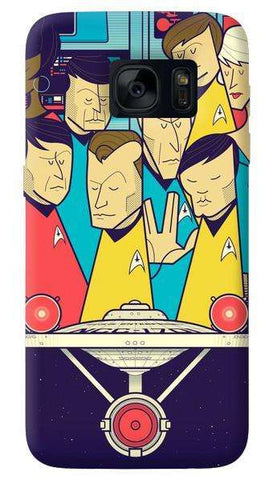 Star Trek   Samsung Galaxy S7 Edge Case