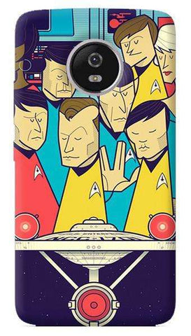 Star Trek Motorola Moto G5 Plus Case