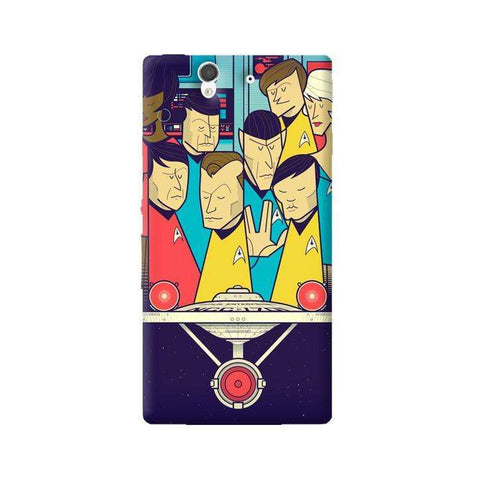 Star Trek Sony Xperia Z Case