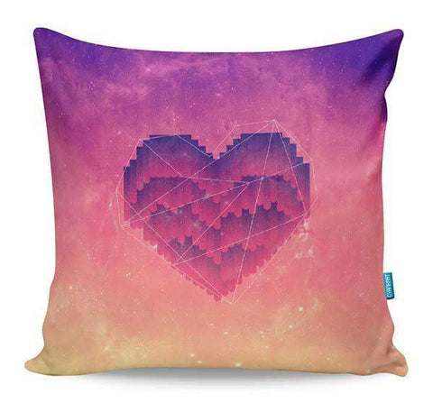 Starry Hearts Cushion Cover
