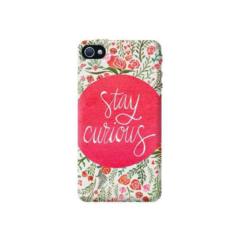 Stay Curious Apple iPhone 4/4S Case