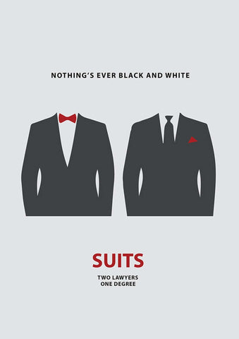 Suits Minimal Poster