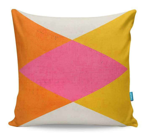 Summer Triangles Cushion Cover