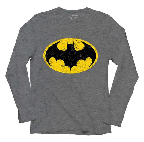 Superhero Bat Full Sleeve T-Shirt