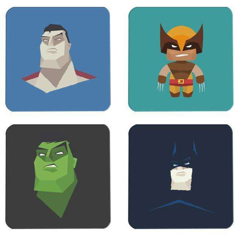Superhero Coasters