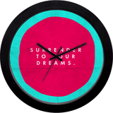 Surrender To Your Dreams Wall Clock