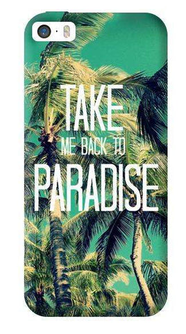Take Me Back To Paradise Apple iPhone 5C Case