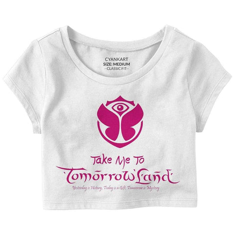 Take Me To Tomorrowland Crop Top