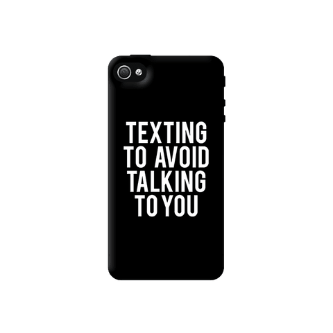 Texting Apple iPhone 4/4S Case