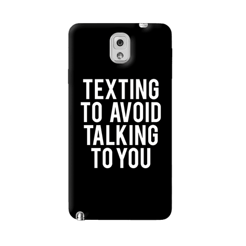 Texting Samsung Galaxy Note 3 Case