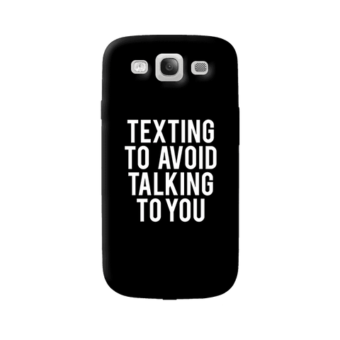 Texting Samsung Galaxy S3 Case