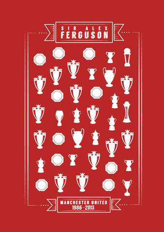 Thank You Sir Alex Poster