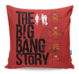 The Big Bang Story Cushion Cover