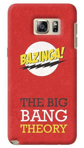 The Big Bang Theory  Samsung Galaxy Note 5 Case