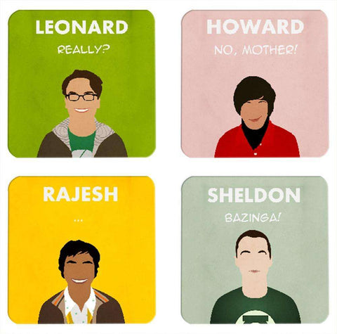 The Big Bang Theory Coasters