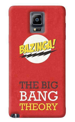 The Big Bang Theory Samsung Galaxy Note 4 Case