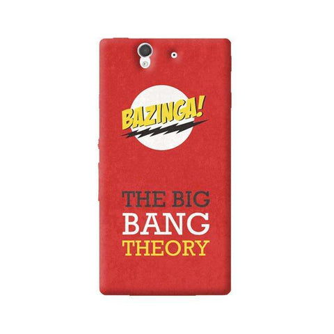 The Big Bang Theory Sony Xperia Z Case