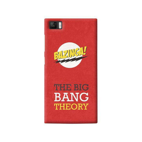 The Big Bang Theory Xiaomi Mi3 Case