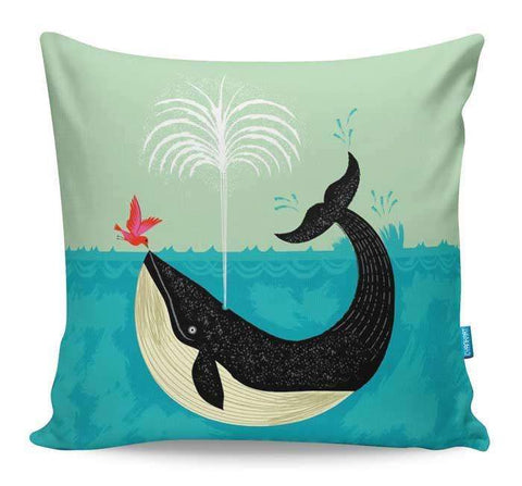 The Bird And The Whale Cushion Cover