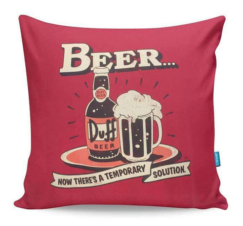The Temporary Solution Cushion Cover