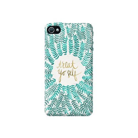Treat Yoself Apple iPhone 4/4S Case