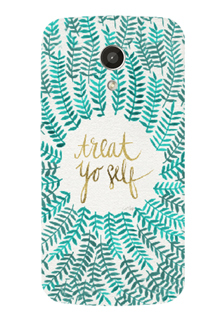 Treat Yoself Motorola Moto G 2nd Gen Case