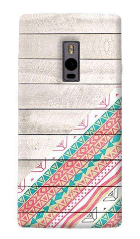 Tribal Aztec Wooden Teal OnePlus Two Case
