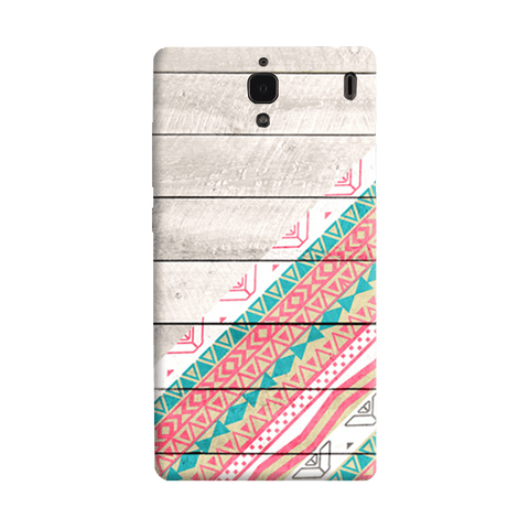 Tribal Aztec Wooden Teal Redmi 1S Case