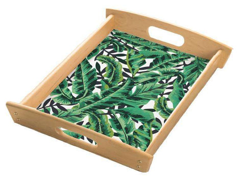 Tropical Leaf Serving Tray