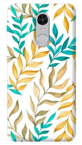 Tropical Leaves Xiaomi Redmi Note 4 Case