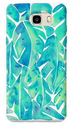 Turquoise Leaf Samsung Galaxy J7 Prime Case