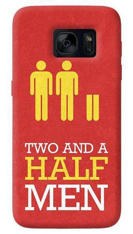 Two and a Half Men   Samsung Galaxy S7 Edge Case