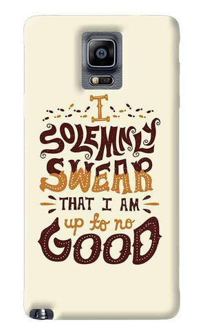 Upto No Good Samsung Galaxy Note 4 Case